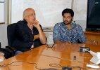 Mahesh Bhatt gifts book to Ali Fazal