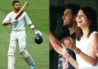 Virat-Anushka affair: The star cricketer blows a kiss again to his lady love (see pics)