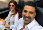 Akshay Kumar holidays with wife Twinkle in France