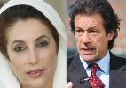 Imran Khan's affair with late Pak PM Benazir Bhutto to be narrated in a movie!