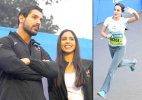 Mumbai Marathon 2015: John Abraham attends the event with wife Priya Runchal (see pics)