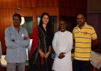 Illayaraja in London for re-recording of 'Rudhramadevi'