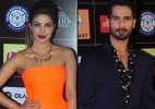 Priyanka Chopra kissed her ex-flame Shahid Kapoor at Star Guild Awards 2015!