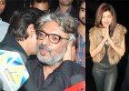 Shah Rukh Khan kisses Sanjay Leela Bhansali at his party, Priyanka, Ranveer join in (see pics)