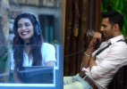 Bigg Boss 8, Halla Bol Day 8: Upen gets romantic with Karishma during a task! (see pics)