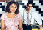 Salman Khan reacts to Madhuri being paid more than him in HAHK