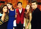Shah Rukh Khan to treat Farah, Karan, Alia and Anushka on his show