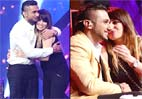 Yo Yo Honey Singh's wife calms him down on the sets of India's Raw Star (see candid pics)