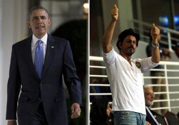 Shah Rukh to Obama: Next time 'Chaiyya chaiyya'
