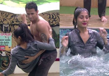 Bigg Boss 9: All inmates unite against Rimi Sen, throw her in the swimming pool (watch video)