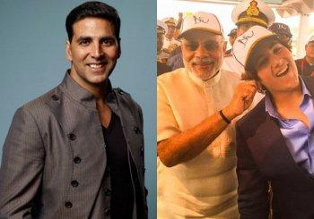 One picture, many emotions: Modi calls Akshay's son 'good boy', pulls his ear