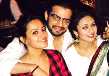 Karan Patel caught embracing two ladies and none of them is fiancee Ankita Bhargava