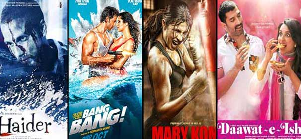 Big clashes at BO: Mary Kom vs Daawat-E-Ishq, Bang Bang vs Haider, PK vs Welcome Bac