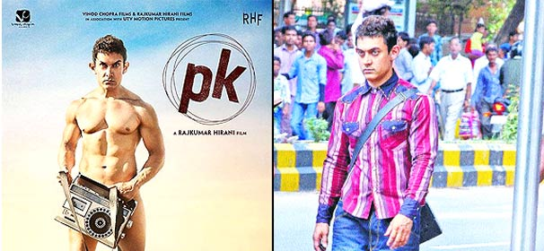 P.K. poster out: Nude Aamir Khan looks weird (see pics