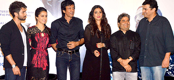 Haider trailer launch: Shahid, Shraddha, Tabu attended the event (see pics)