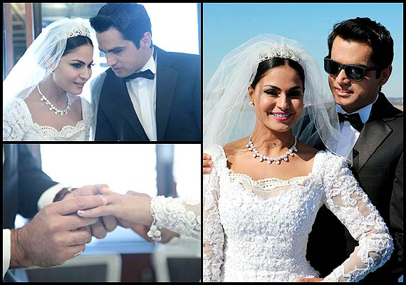 Veena Malik's white wedding: See the inside pictures