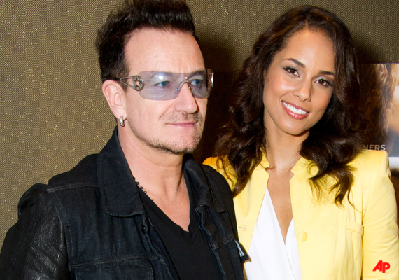 Bono : Alicia Keys Has 'Lioness Energy'