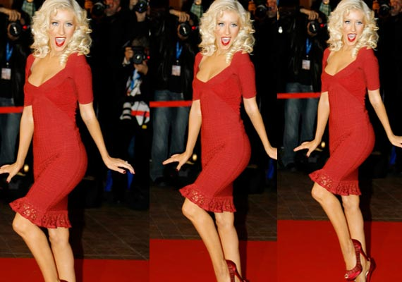 How Christina Aguilera lost weight