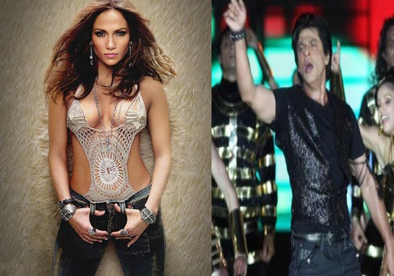 Jennifer Lopez  angry with Shahrukh Khan over IPL inaugural event