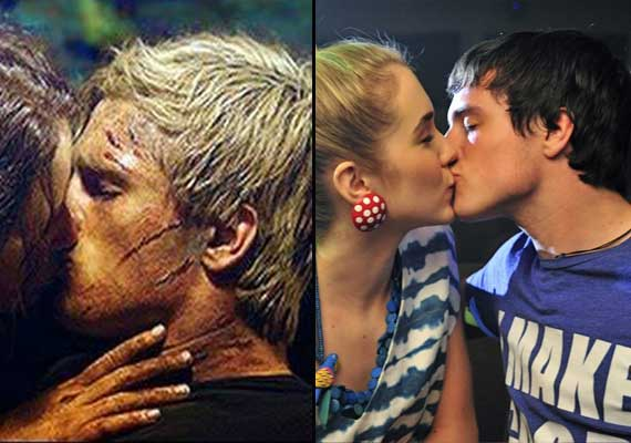 Jennifer Lawrence Boyfriend Josh Hutcherson Kissing