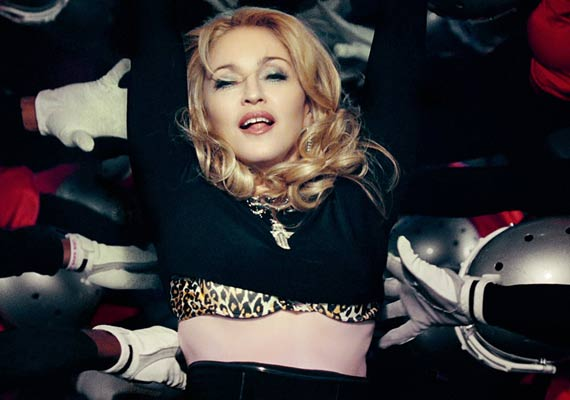 Madonna receives death...