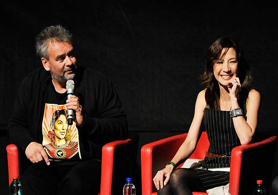 Michelle Yeoh, Luc Besson Find Indian Drivers 'Reckless'