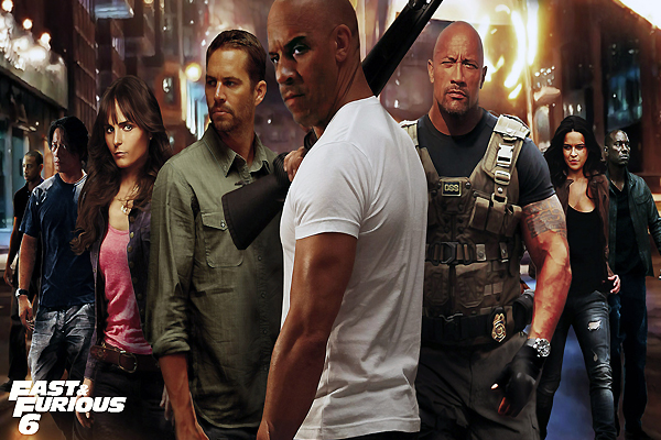 Movie review: Fast & Furious 6, no-brainer action-packed extravaganza