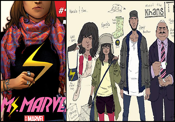 marvel muslim Marvel comics latest minority superhero is a teenaged muslim-american girl of pakistani descent who will take on the currently unused ms marvel persona the teen will be named kamala kahn, a muslim girl going to high.