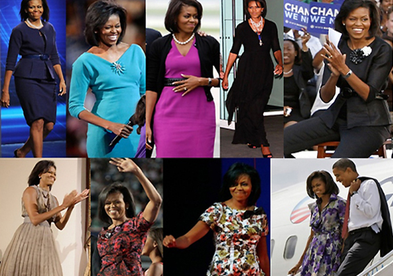 The Secret Behind Michelle Obama's Power Dressing