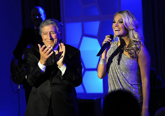 Tony Bennett And Carrie Underwood Perform Duet At Grammy