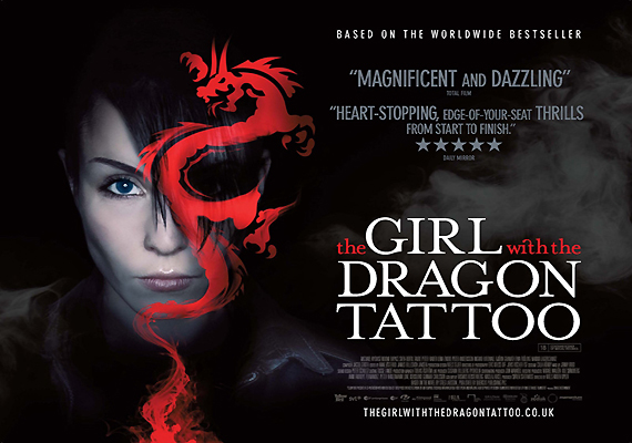 For the underdog at premiere of the girl with a dragon tattoo