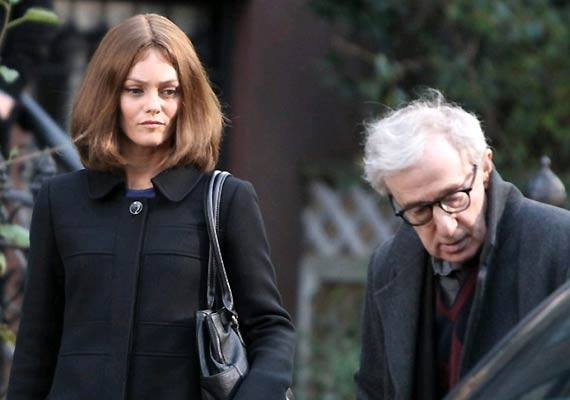 Vanessa Paradis tried seducing Woody Allen