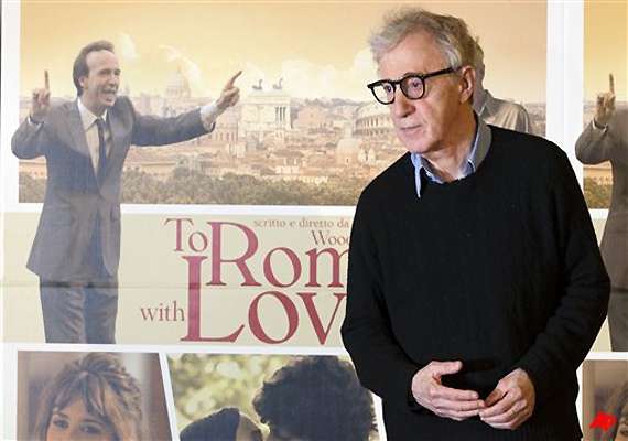 Woody's 'To Rome With Love' Shows The Sweet Life