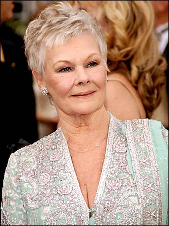 Picture Of Judi Dench Haircut | Short Hairstyle 2013