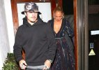 Jennifer Lopez cleavage show on date night with Casper Smart (see pics)
