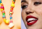 Miley Cyrus's wisdom tooth necklace
