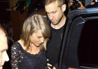Taylor Swift caught leaving house with Harris