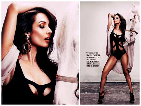 Malaika On Maxim Oct Edition