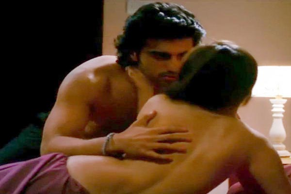 Arjun Kapoor in steamy scenes with Sasha Agha in 'Aurangzeb'