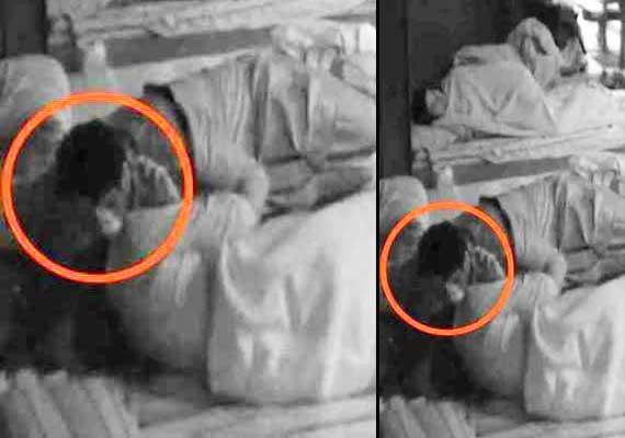 Bigg Boss 7:  Armaan Kohli kisses Tanisha Mukherjee (view pics)
