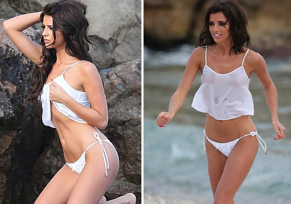 English actress Lucy Mecklenburgh goes nude for a photoshoot (view pics)