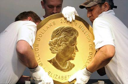 World's Biggest Gold Coin Auctioned For £2.68m