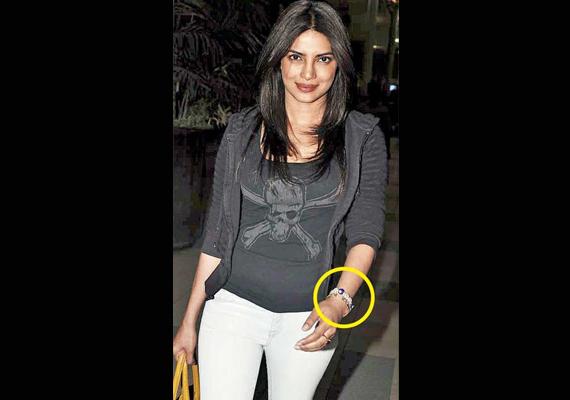 Priyanka Wears A Turkish Bracelet To Ward Off Evil Eye