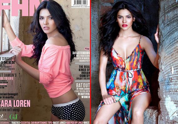 Sara Loren does hot photoshoot for FHM magazine