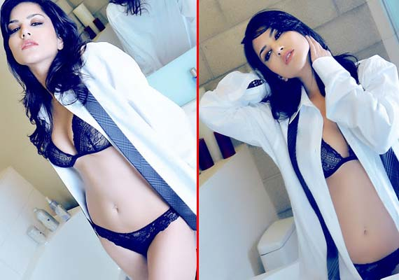 Sunny Leone sizzles in a bathroom photoshoot