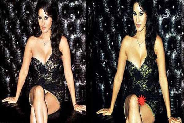 Sunny Leone's  shocking wardrobe malfunction