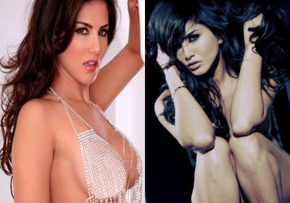 Sunny Leone uploads her semi-nude pics on website