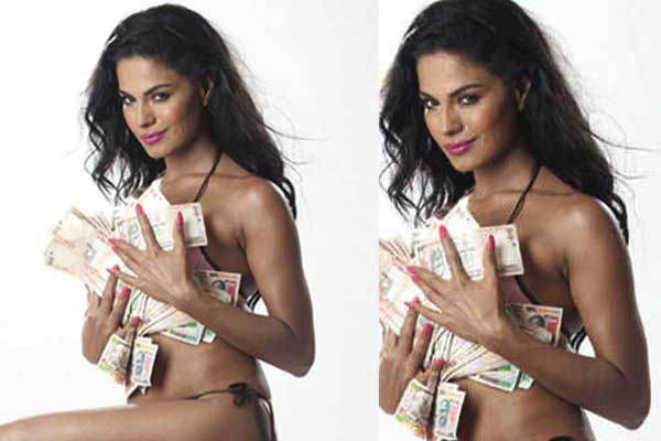 Veena Malik in hot bikini photoshoot