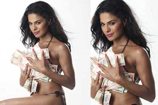Veena Malik in hot bikini photoshoot