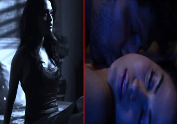 Watch Veena Malik and Riya Sen's intimate scene from 'Zindagi 50-50'